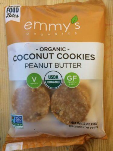アメリカのデリで買ったココナッツクッキー