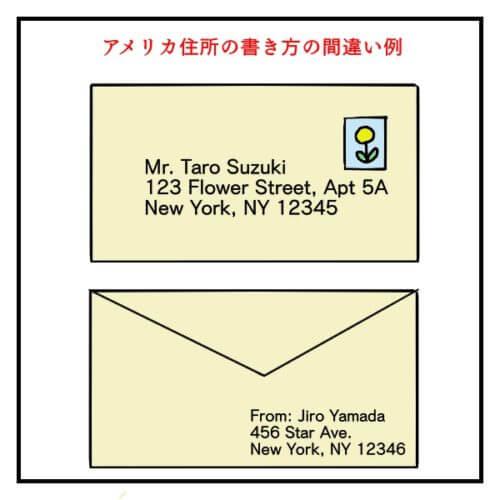 日本人がよくやる住所の書き方間違い