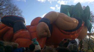 ドラゴンボールZの悟空:NYサンクスギビングパレード
