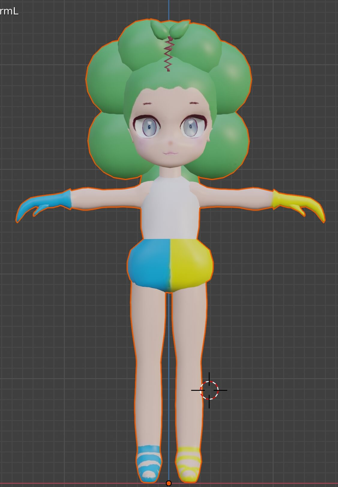 イェイちゃんの自作3Dアバター